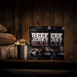 Kuivalihakundi Beef Jerky Garlic