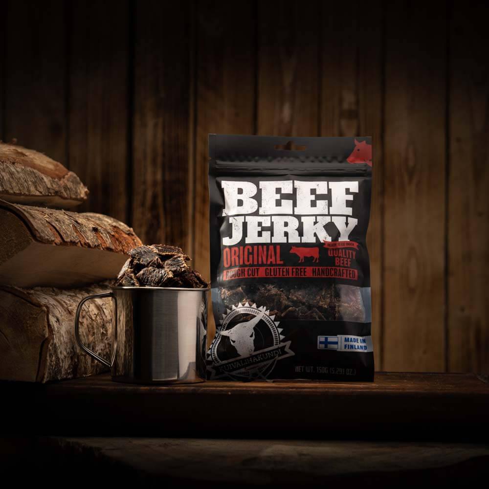 Kuivalihakundi Original Beef Jerky Jerkku