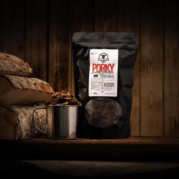 Kuivalihakundi Porky smokey bbq kuivaliha