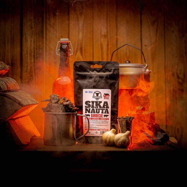 Kuivalihakundi Sika-nauta Barbecue